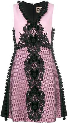 Fausto Puglisi embroidered a-line dress