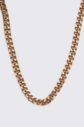 boohoo Large Cuban Chain