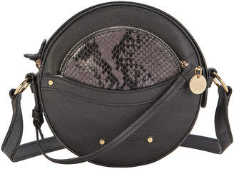 See by Chloe Pouch Detail Circular Leather Bag
