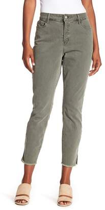 NYDJ Ami Skinny Frayed Ankle Jeans