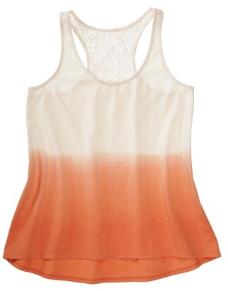 Mossimo Juniors Lace Dip Dye Tank - Assorted Colors