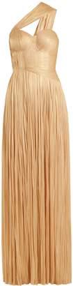 Maria Lucia Hohan Melanie pleated silk gown