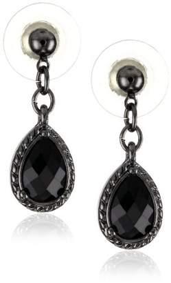 1928 Jewelry Victorian Inspired Petite Teardrop Earrings