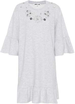 McQ Cotton-blend sweatshirt dress