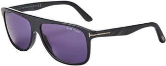 Tom Ford TF501 Inigo Grey Square Sunglasses