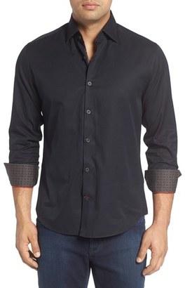 Men's Stone Rose Textured Sport Shirt $145 thestylecure.com