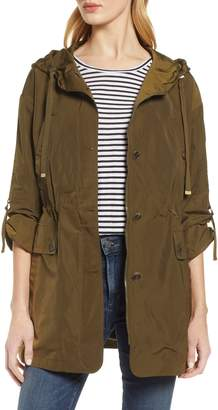 Gallery Fitted Hooded Raincoat