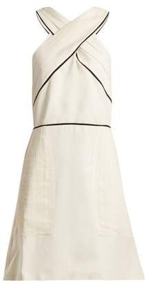 Zeus + Dione - Helen Pleated Silk Dress - Womens - Ivory