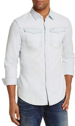 G-STAR RAW Denim Regular Fit Button-Down Shirt $120 thestylecure.com