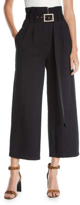 STYLEKEEPERS Berlin Mural High-Waist Culottes