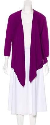 DKNY Silk Knit Cardigan