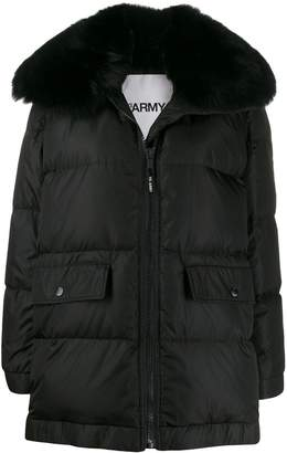 Yves Salomon Army oversized padded coat