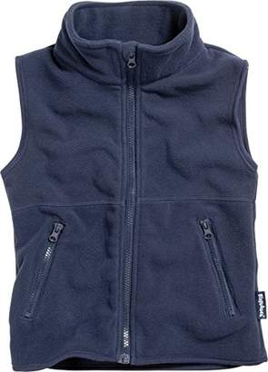 Playshoes Boy's Kids Sleeveless Warm Fleece Vest Zipper Gilet,9-12 Months