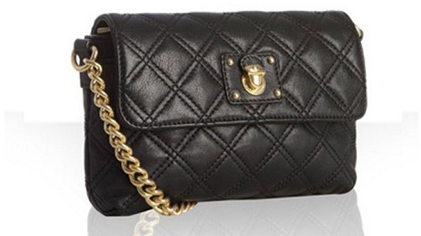 Marc Jacobs black quilted leather 'Day To Night Single' crossbody bag