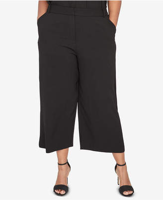 Rachel Roy Trendy Plus Size Wide-Leg Pants
