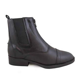 SMOKY MOUNTAIN Smoky Mountain Women's Zipper Paddock 6 Leather Riding Boot