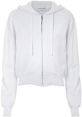 Cotton Citizen Milan Cropped Zip Hoodie