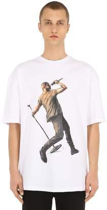 Ih Nom Uh Nit Runway Division Cotton Jersey T-shirt