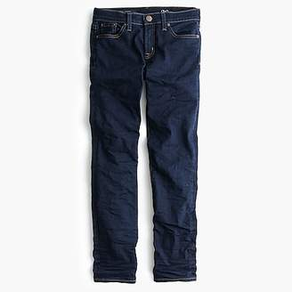 "J.Crew Tall 8"" toothpick jean in classic rinse"
