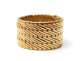 Hermes Yellow gold ring