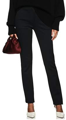 The Row Women's Bosso Faille Skinny Trousers - Black
