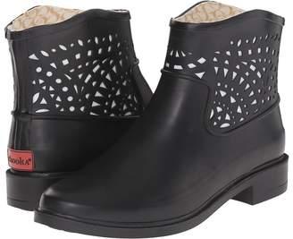 Chooka Deco Laser Cut Bootie Women's Rain Boots