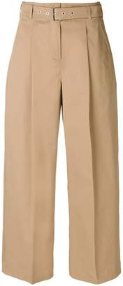 YMC high rise wide leg trousers