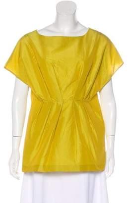 Marni Sleeveless Textured Blouse