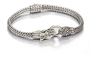 John Hardy Women's Naga 18K Yellow Gold & Sterling Silver Dragon Bracelet