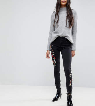 New Look Tall Embroidered Skinny Jean
