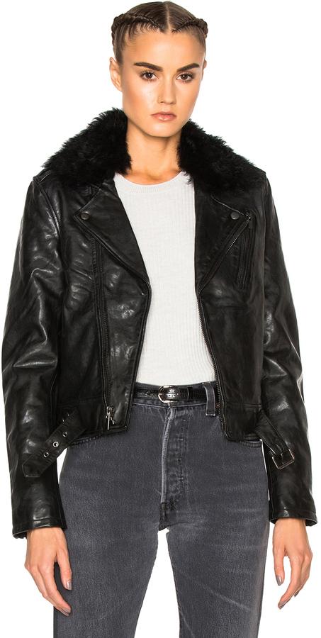 BLK DNMBLK DNM Leather Jacket 1