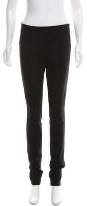 Diane von Furstenberg Mid-Rise Skinny Leggings