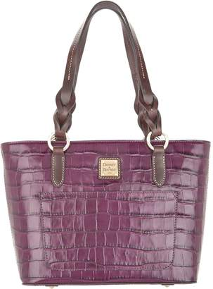 Dooney & Bourke Croco Embossed Leather Tammy Tote