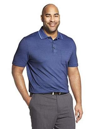 1f177c4d35b9 Van Heusen Men s Flex Short Sleeve Stretch Stripe Polo Shirt