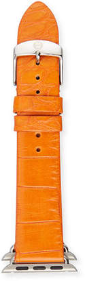 Michele 38mm Alligator Strap for Apple Watch