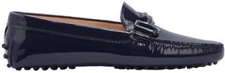 Tod's Gommino Double T Patent Leather Loafers