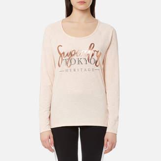 Superdry Women's Lotus Long Sleeve Top
