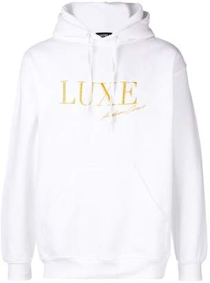 Andrea Crews embroidered Luxe hoodie