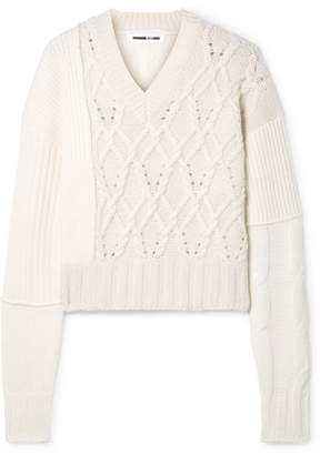 McQ Cable-knit Sweater - Ivory