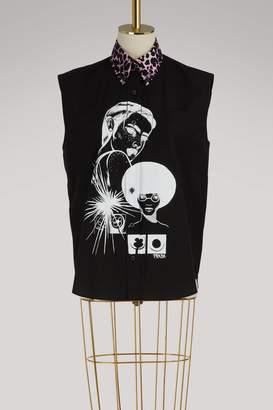 Prada Comics sleeveless shirt
