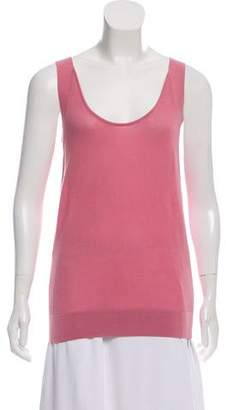 Calvin Klein Collection Sleeveless Scoop Neck Sweater