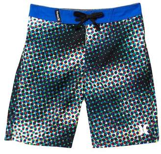 Hurley Dot Board Shorts (Toddler Boys)