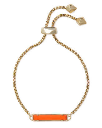 Kendra Scott Stan Gold Adjustable Chain Bracelet in Multicolor Drusy