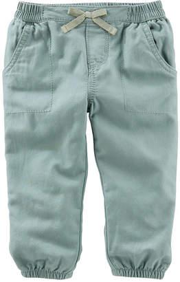 Osh Kosh Oshkosh Olive Pull-On Pants - Baby Girls