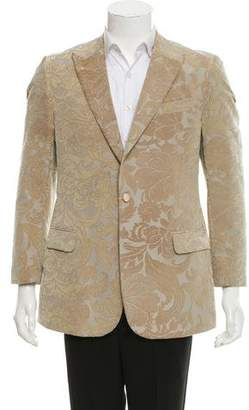 Gianfranco Ferre Woven Two-Button Blazer w/ Tags