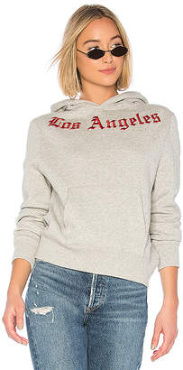 KENDALL + KYLIE Embroidered Oversize Fleece