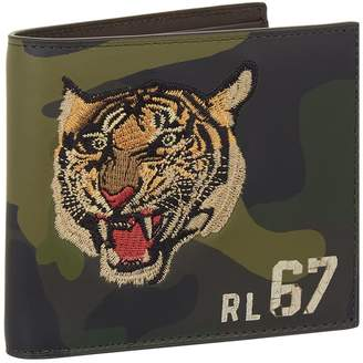 Polo Ralph Lauren Embroidered Tiger Camouflage Wallet