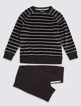Marks and Spencer Lounge Striped Pyjamas (3-16 Years)