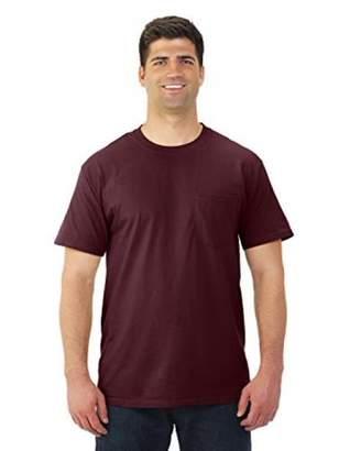 Fruit of the Loom Men's Heavy Cotton Pocket T-Shirt