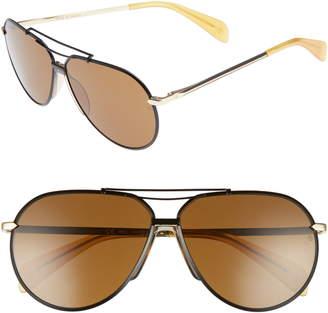 93def5eb44fb Rag & Bone Black Men's Sunglasses - ShopStyle